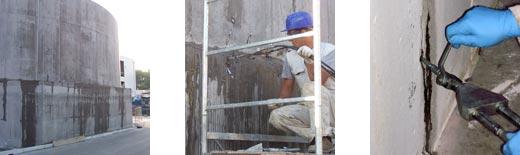resina acrilica per sigillatura infiltrazioni d'acqua