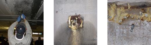 resina poliuretanica per sigillatura infiltrazioni d'acqua